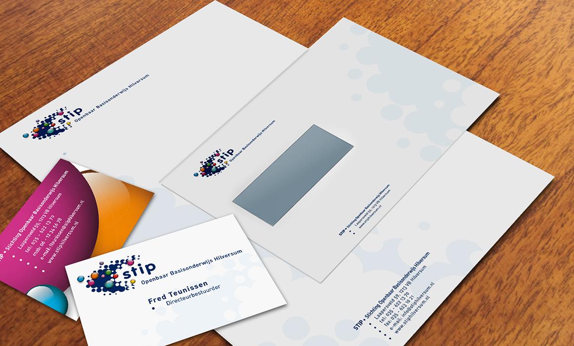 Stip briefpapier envelop