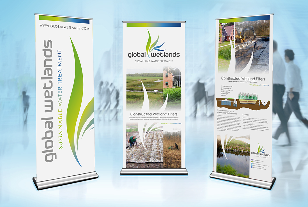 Wetlands rollup banners